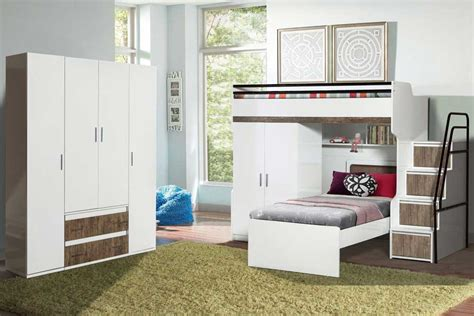 Create An Impeccable Children S Room With Our Bunk Bed Range Bunk Bed Wardrobe