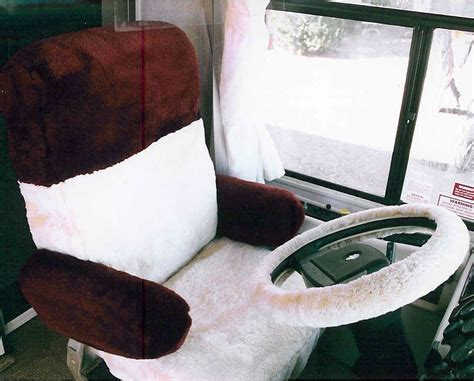 rv driver seat covers sheepskin seat covers rv custom tailor made ultimate
