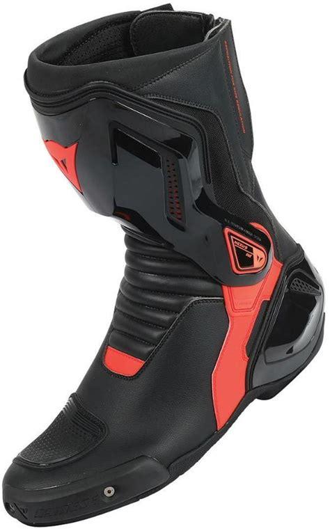 dainese nexus uzun motosiklet botu siyah kirmizi