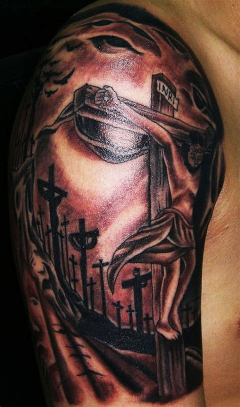 3d tattoo jesus christ 20 religious jesus christ tattoo designs and ideas