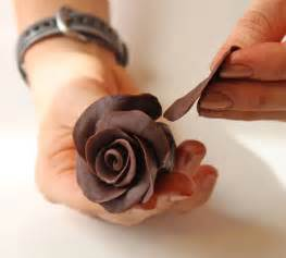 How To Make Chocolate Decorations At Home by How To Make Chocolate Roses Photo Tutorial