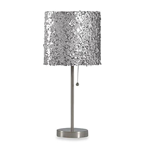 silver sequin l shade buy silver sequin l from bed bath beyond