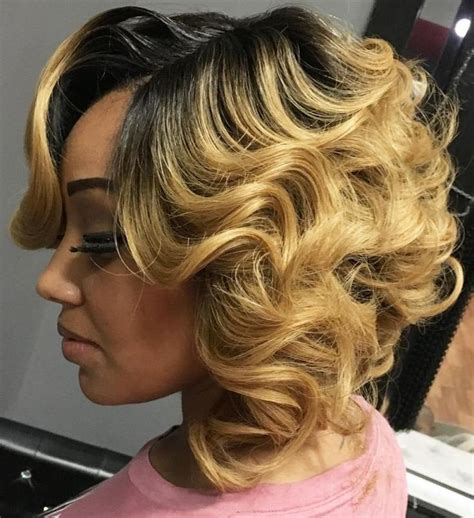 pin curls on a bob 25 best ideas about quick weave hairstyles on pinterest