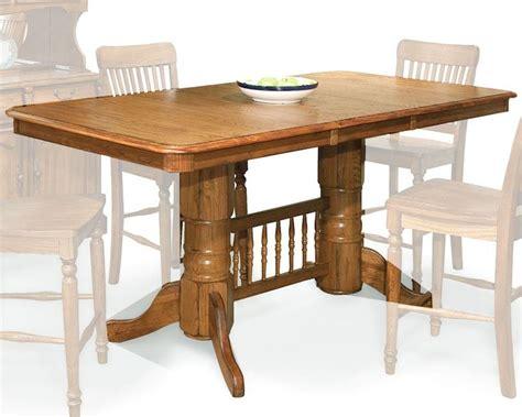 oak counter height table intercon solid oak counter height table oak