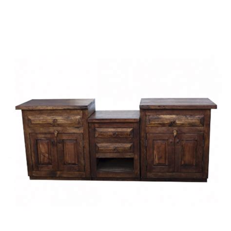 reclaimed wood bathroom vanities buy double sink vanity made from reclaimed wood