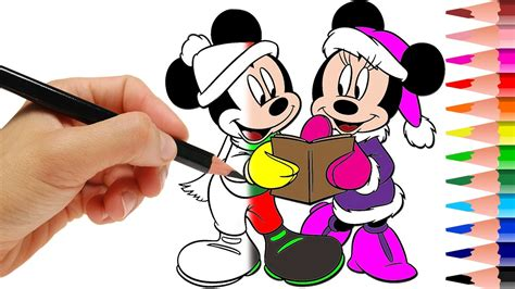 Ailubee Piyama Minnie Mouse Kidsz best coloring mickey mouse minnie mouse color in books