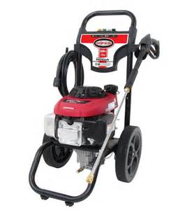 Honda Power Washer 2 4 Gpm 3000psi Gas Power Pressure Washer W Honda
