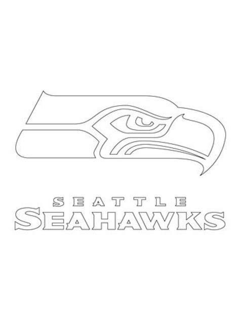 seahawks color seattle seahawks coloring page for the house cool