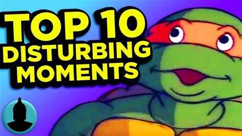 disturbing youtube videos being posed as popular cartoons daily mail online top 10 disturbing cartoon moments tooned up s1 e30
