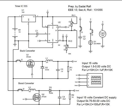 what is the working principle of each component and the
