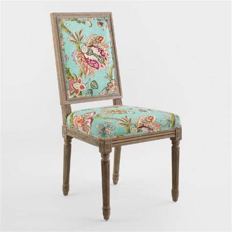 square back dining chair monrovia floral square back dining chairs set of 2