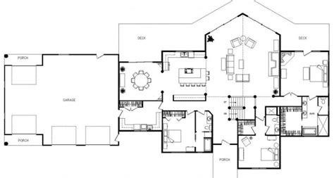 ranch floor plans open concept open concept ranch home plans