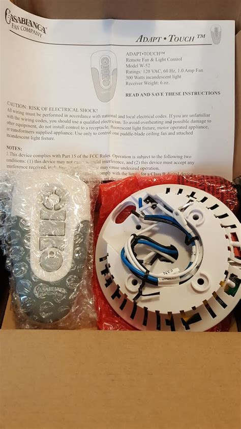 fix my casablanca fan w 52 kit fix my casablanca fan