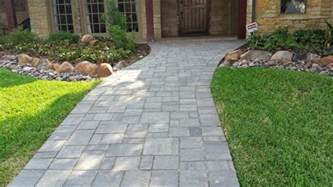 best pavers for walkway paver walkway installation plano tx legacy custom pavers