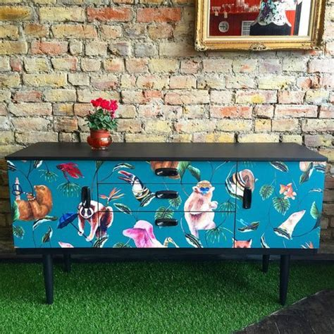 Decoupage Furniture For Sale - best 25 retro tv stand ideas on midcentury