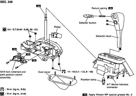 how to replace shift solenoid 1996 nissan maxima 2000 maxima se i am trying to replace the interlock solenoid i have the center console off