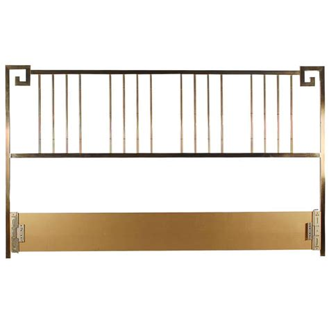 brass king size headboard brass king size headboard by mastercraft for sale at 1stdibs