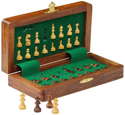 Magnetic Board Chess Mainan Anak Board Best Product best travel chess set souvnear 7 5 magnetic folding board portable chess handmade in