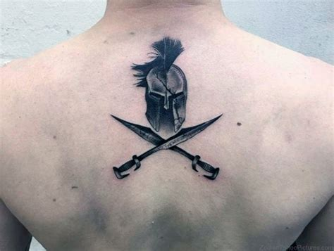 crossed swords tattoo 40 best zodiac sword tattoos on back