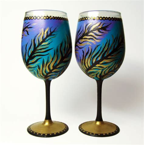top 20 unique wine glasses unique wine glasses unique hand painted wine glasses set of 2 unique by