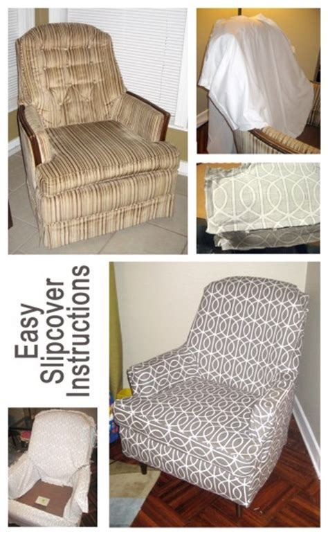 how to make chair slipcovers easy sewing crafts recliner covers
