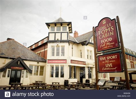 Tom S Cabin Blackpool by Toms Cabin Blackpool Stock Photo Royalty Free Image