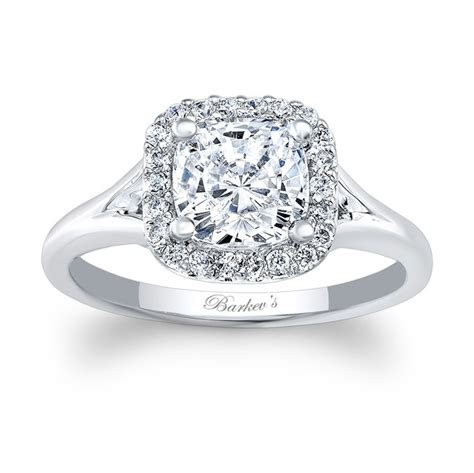 ring cusion barkev s cushion cut engagement ring 7999l