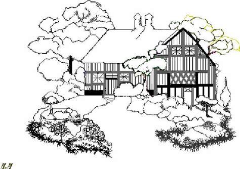 colorare casa 6 disegni per bambini da colorare