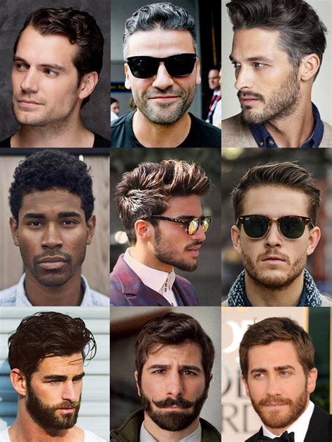 mens hairstyles different types of beards various styles cool beard styles for men in 2017