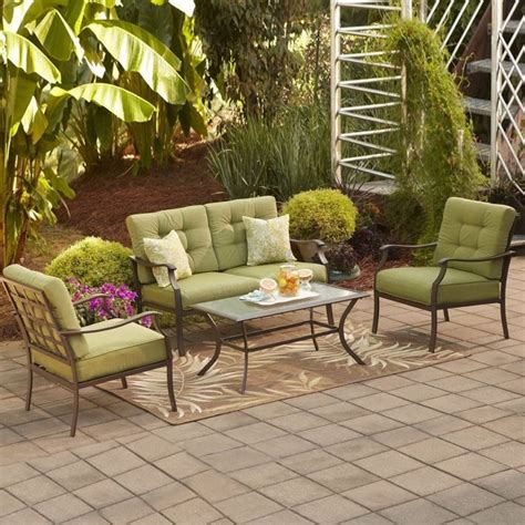 gallant patio furniture sets at home depot patio furniture