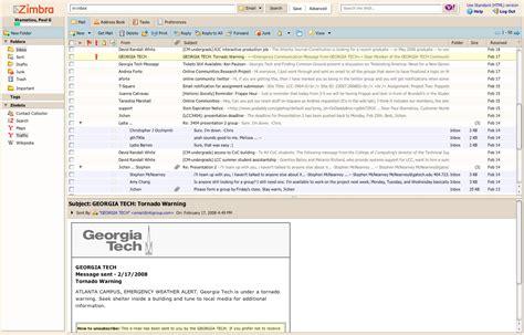 Zimbra Email Search Review Zimbra Webmail Paulstamatiou