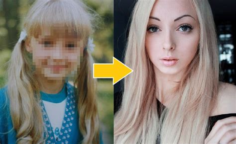real barbie real life barbie before and after www pixshark com