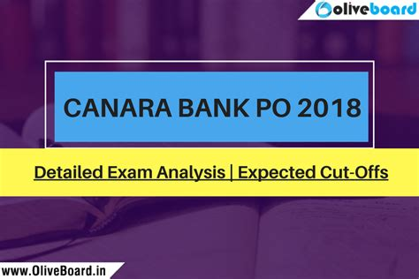 Mba After Bank Po Experience by Canara Bank Po Pgdbf 2018 Analysis Expected Cut Offs