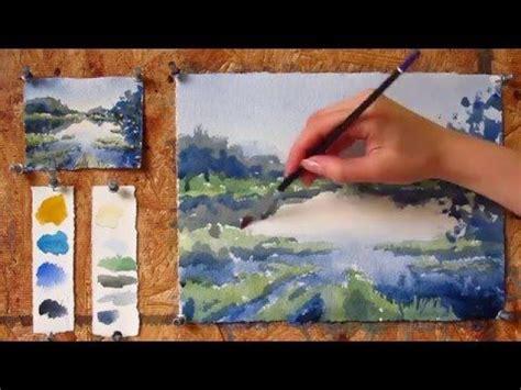 tutorial lake tableau les 570 meilleures images du tableau arbre aquarelle et