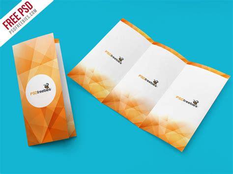 brochure mockup template free free psd tri fold brochure mockup psd template by psd