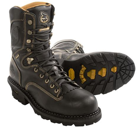 comfort core logger georgia boot 9 gore tex 174 comfort core logger boots for