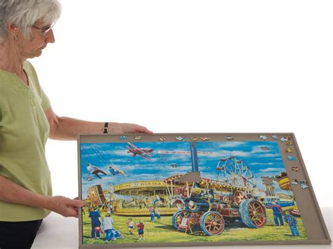 jigboard puzzle boards portable jigsaw boards from jigthings puzzle board for sizes up to 29 5 inches x 20 5