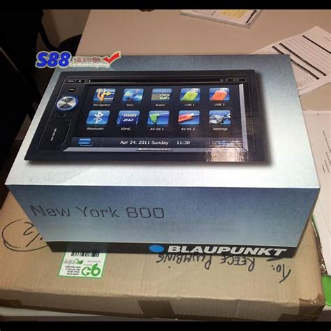 Original Bergaransi Dvd Player Nico Usb sales din headunit blaupunkt new york 800 gps