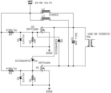 zvs induction heater schematic pdf zvs driver