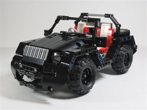 Moc Rc Mini Jeep Lego Technic Mindstorms Model Team