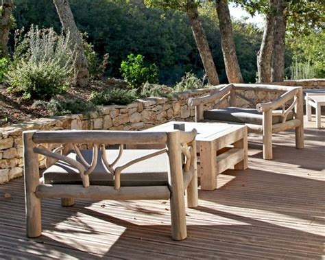 meuble de jardin bois mobilier de jardin en bois massif