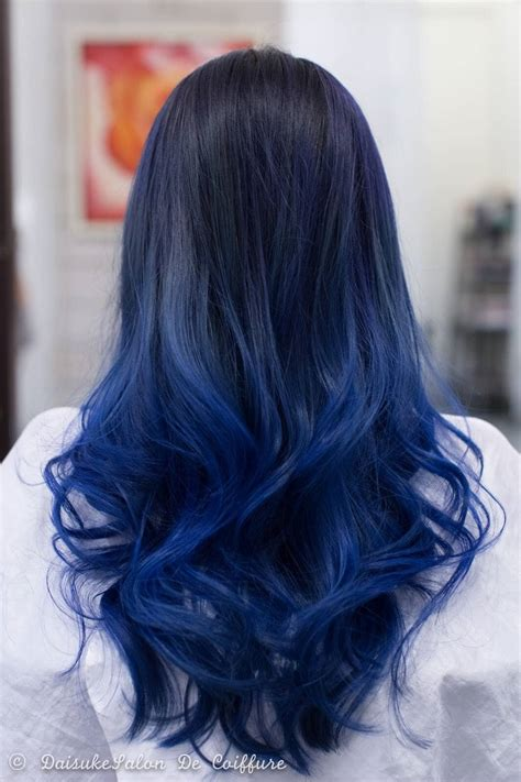 27 cool blue ombre hairstyles