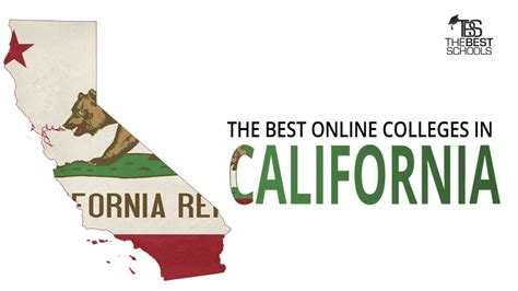best colleges in california the best online colleges in california for 2018