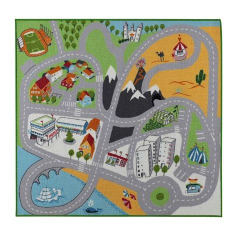 Childrens Play Rugs by Lekplats Rug Low Pile