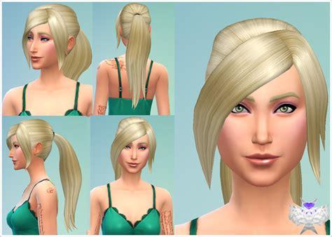 ponytail hair sims 4 my sims 4 blog david sims long ponytail for females