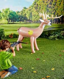 Home Decor Gift Catalogs crossbow with inflatable deer target ltd commodities