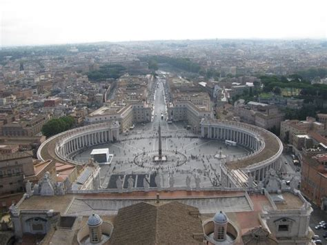 visitare cupola san pietro panorama dei giardini vaticani foto di cupola di san