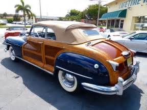 1948 Chrysler Value 1948 Chrysler Convertible For Sale Photos Technical