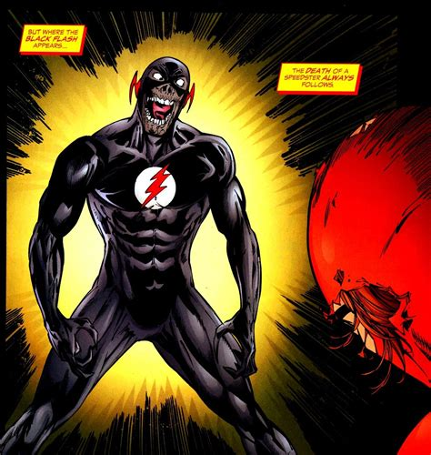 Black Flash how might black flash fit into the flash season 3 space