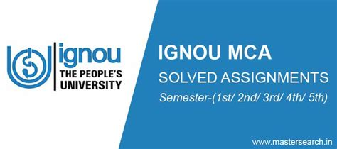 Ignou Mba Solved Assignments 2017 Free by Ignou Mca Solved Assignment 2017 Free Pdf